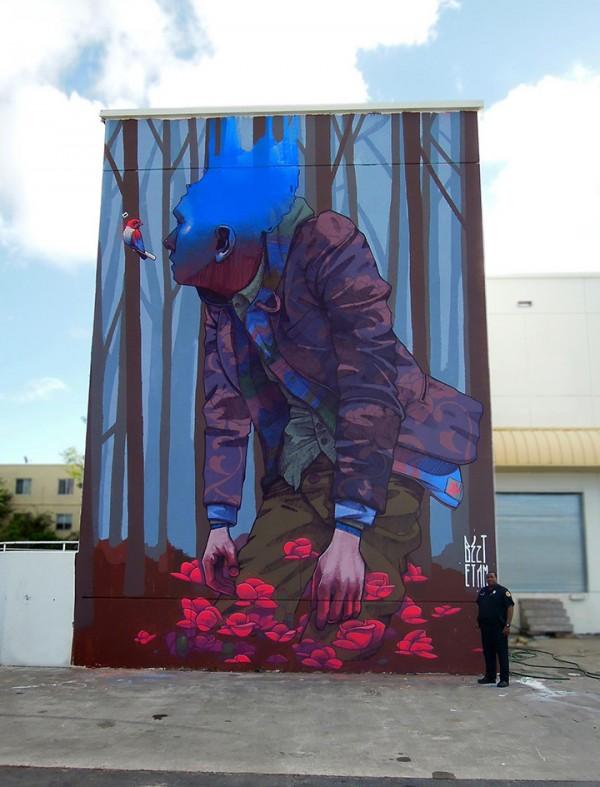 Bezt, Etam Cru, urban art, Dopamine, street art, urban artists, graffiti art, street artists.