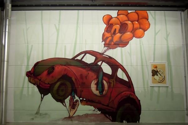 Bezt, Etam Cru, street art, urban artists, graffiti art, street artists, urban art.