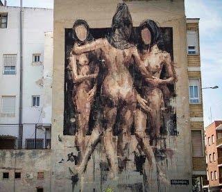 Borondo, graffiti street art, urban art online, graffiti art, street artists, urban artists, graffiti artists, free walls