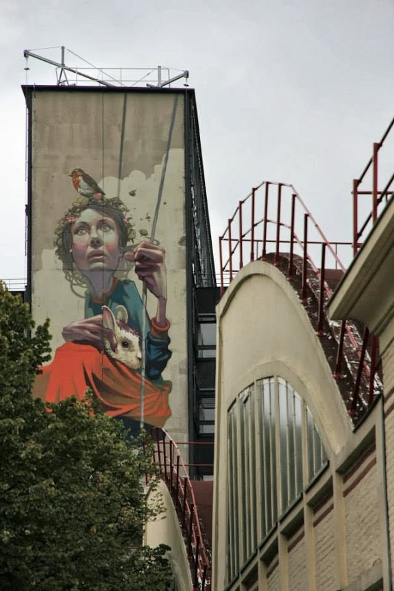 High Hopes, france, paris, sainer, street art, urban artists, graffiti art, street artists, urban art.
