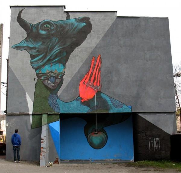 katowice, poland, street art, urban artists, graffiti art, street artists, urban art.