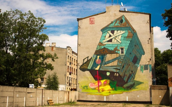 bezt, sainer, lodz, poland, street art, urban artists, graffiti art, street artists, urban art.