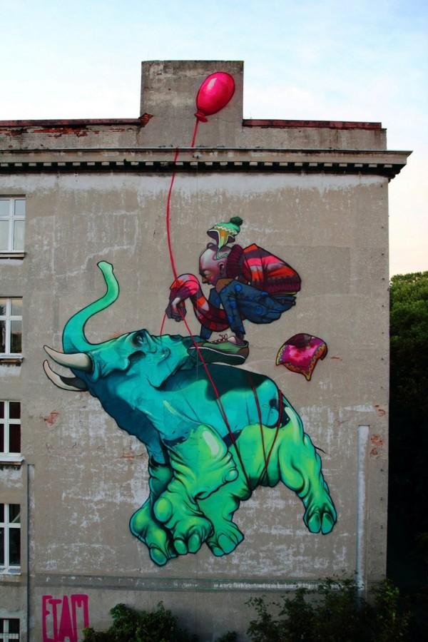 lodz, poland, bezt, sainer, street art, urban artists, graffiti art, street artists, urban art.