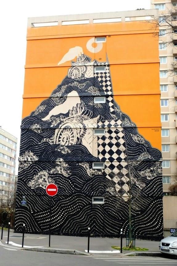 MCity, Paris, France, graffiti street art, urban art online, graffiti art, street artists, urban artists, graffiti artists, free walls
