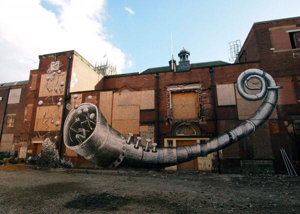 Phlegm, graffiti street art, urban art online, graffiti art, street artists, urban artists, graffiti artists, free walls