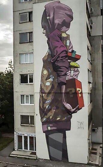 Etam, Sofia, Bulgaria, street art, urban artists, graffiti art, street artists, urban art.