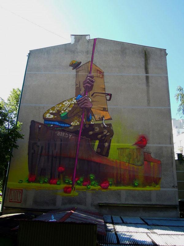 sainer, poland, street art, urban artists, graffiti art, street artists, urban art.