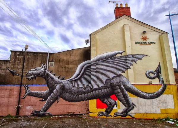 phlegm, urban art online, street artists, street art, wall murals.