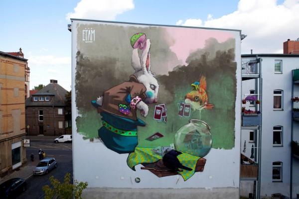 halle, germany, street art, urban artists, graffiti art, street artists, urban art.
