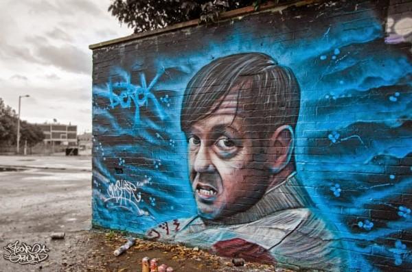 gnasher, urban art online, street artists, street art, wall murals.