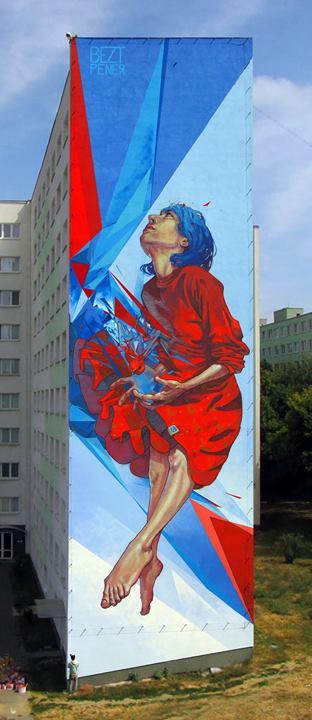 bezt, pener, kosice, slovakia, street art, urban artists, graffiti art, street artists, urban art.