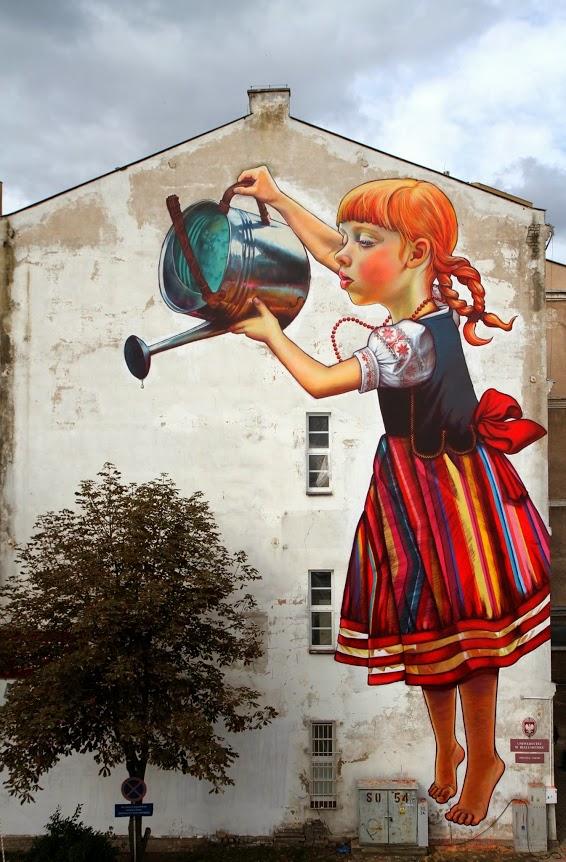 Natalia Rak, graffiti street art, urban art online, graffiti art, street artists, urban artists, graffiti artists, free walls