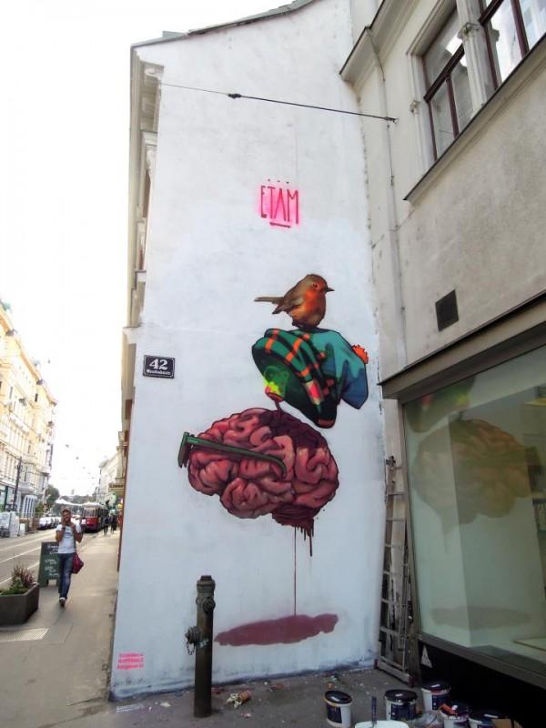 vienna, austria, street art, urban artists, graffiti art, street artists, urban art.