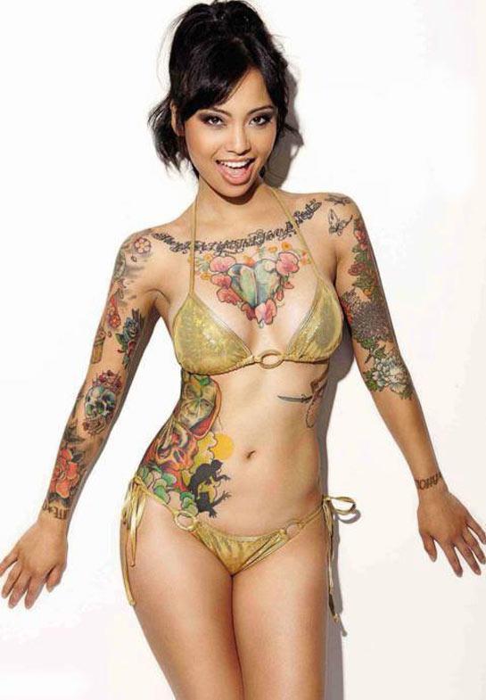 free tattoed girls pic porn
