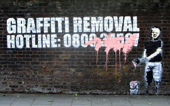 Banksy, best of street art, graffiti, urban art, graffiti art, original street art, Mr Pilgrim, art for sale, freewalls.