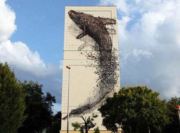 DaLeast, imaginative street art, graffiti art, street artists, urban murals, urban art, mr pilgrim art.