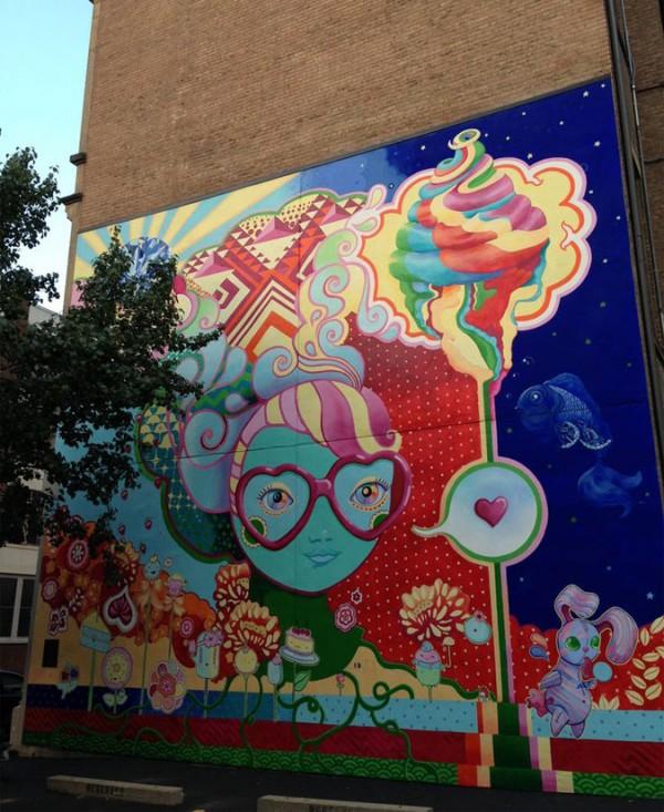 Cinci, imaginative street art, graffiti art, street artists, urban murals, urban art, mr pilgrim art.