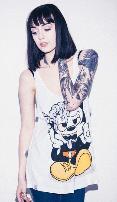 mickey mouse, hot nerds, geek tattoos, nerd tattoos, geeky tattoos, hot geeks, geek ink, nerd ink.