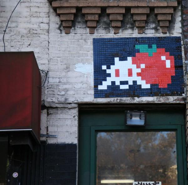 Invader, best of street art, graffiti, urban art, graffiti art, original street art, Mr Pilgrim, art for sale, freewalls.