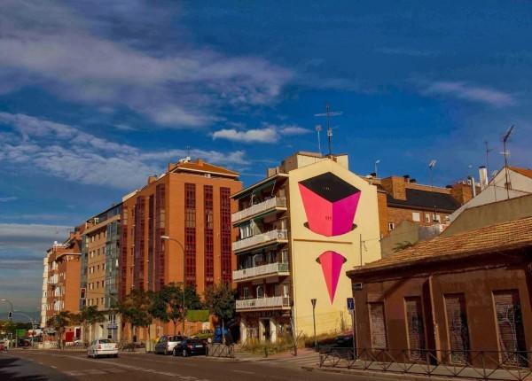 E1000, Madrid, Spain, best of street art, graffiti, urban art, graffiti art, original street art, Mr Pilgrim, art for sale, freewalls.