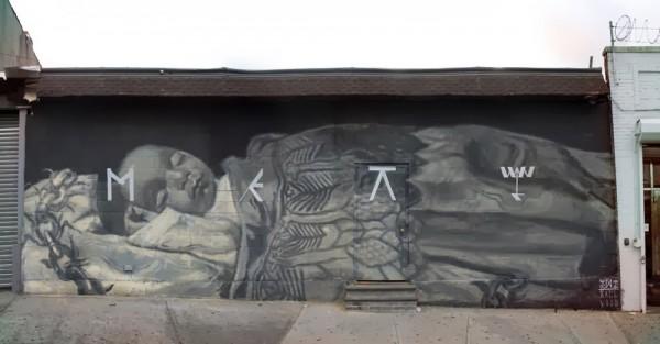 Axel Void, LNY, New York City, USA, best of street art, graffiti, urban art, graffiti art, original street art, Mr Pilgrim, art for sale, freewalls.