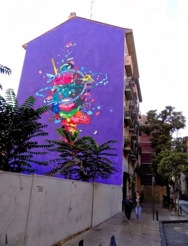 Seher One, Spain, best of street art, graffiti, urban art, graffiti art, original street art, Mr Pilgrim, art for sale, freewalls.