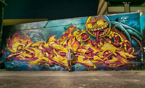 Sofles, imaginative street art, graffiti art, street artists, urban murals, urban art, mr pilgrim art.