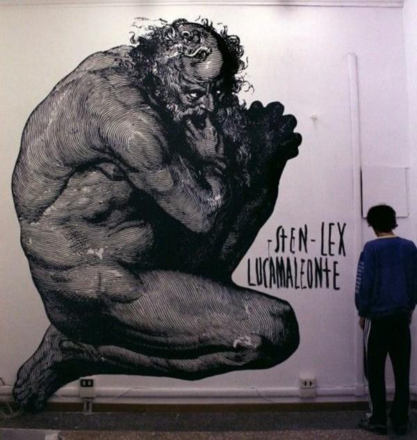 Sten & Lex, imaginative street art, graffiti art, street artists, urban murals, urban art, mr pilgrim art.
