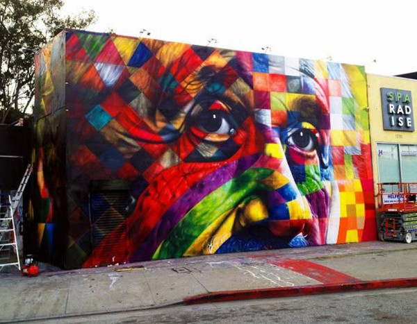 Eduardo Kobra, LA, imaginative street art, graffiti art, street artists, urban murals, urban art, mr pilgrim art.