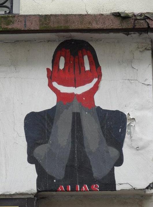 alias, paris, france, street art, graffiti art, street artists, urban murals, urban art, mr pilgrim art.