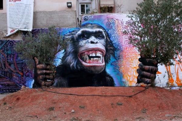 Wild Drawings, Athens, Greece, best of street art, graffiti, urban art, graffiti art, original street art, Mr Pilgrim, art for sale, freewalls.