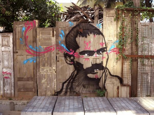 Stinkfish, Bangalore, India, best of street art, graffiti, urban art, graffiti art, original street art, Mr Pilgrim, art for sale, freewalls.