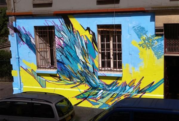 Kidghe, France, best of street art, graffiti, urban art, graffiti art, original street art, Mr Pilgrim, art for sale, freewalls.