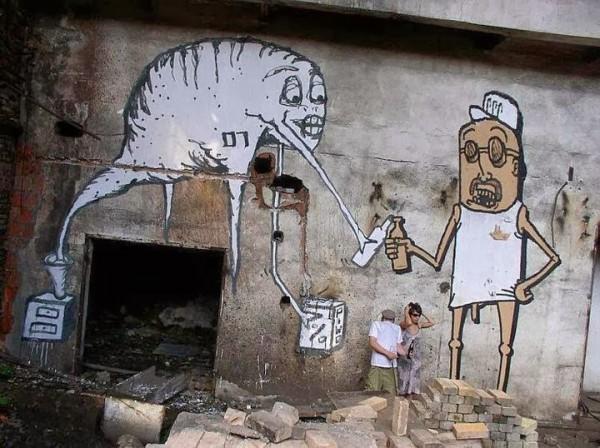 Krik Kong, Momo1030, Gdansk, Poland, graffiti, urban art, graffiti art, original street art, Mr Pilgrim, art for sale, freewalls.