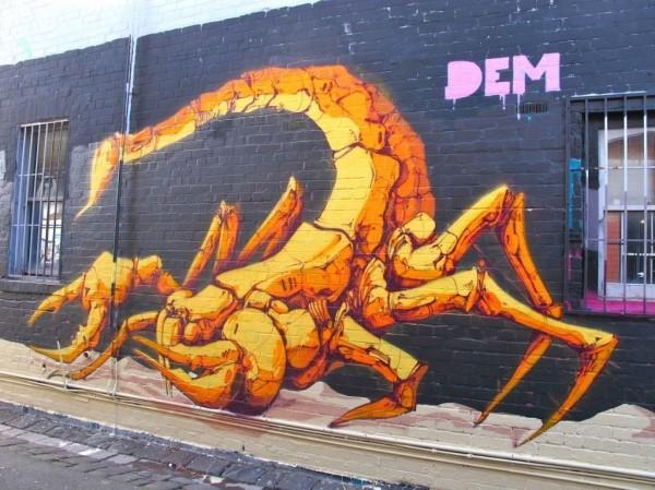 DEM, Melbourne, Australia, best of street art, graffiti, urban art, graffiti art, original street art, Mr Pilgrim, art for sale, freewalls.