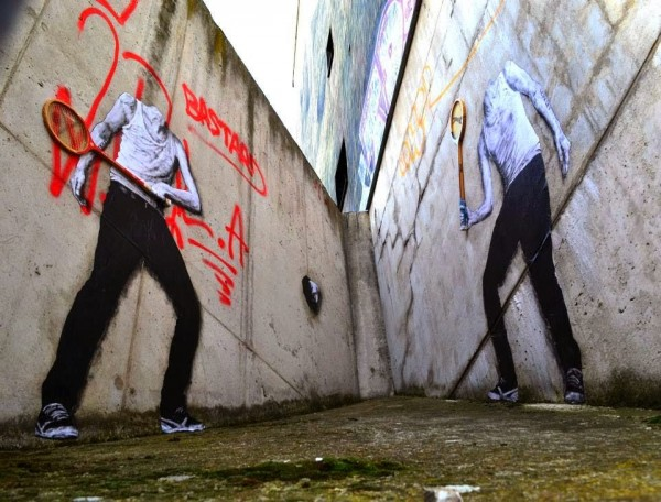 Charles Leval aka Levalet, Paris, France, best of street art, graffiti, urban art, graffiti art, original street art, Mr Pilgrim, art for sale, freewalls.