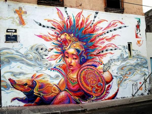 Kenta Torii, Mexico, imaginative street art, graffiti art, street artists, urban murals, urban art, mr pilgrim art.