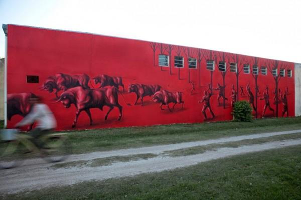 Jaz, Uruguay, best of street art, graffiti, urban art, graffiti art, original street art, Mr Pilgrim, art for sale, freewalls.