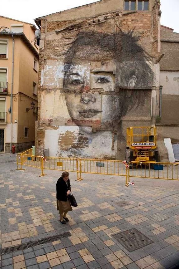 Jorge Rodriguez-Gerada, Tudela, Spain, best of street art, graffiti, urban art, graffiti art, original street art, Mr Pilgrim, art for sale, freewalls.