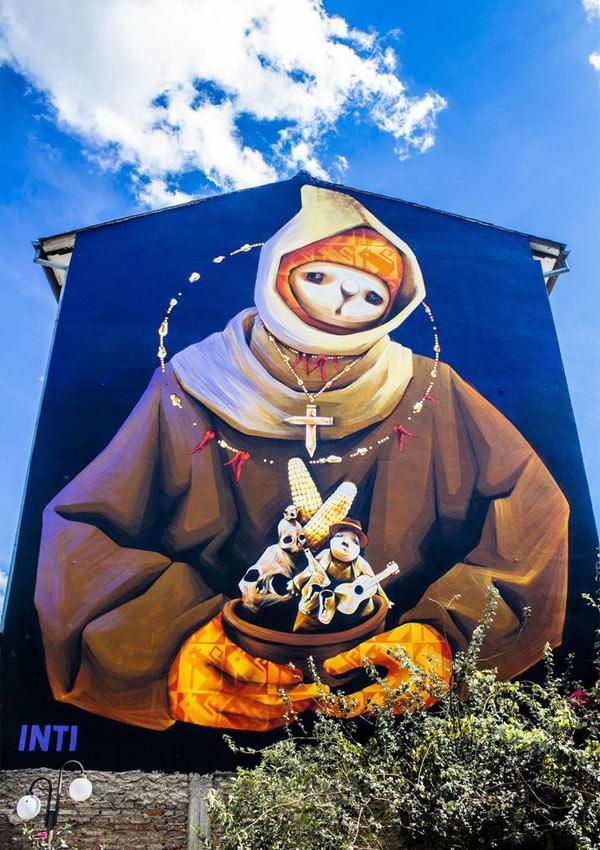 Cochabamba, Bolivia, Inti, graffiti art, street artists, urban murals, urban art, mr pilgrim art.
