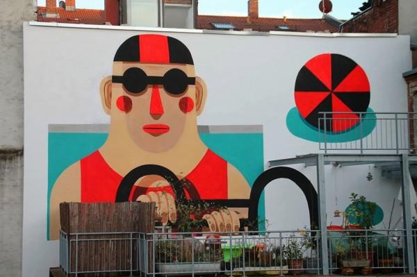 Agostino Iacurci, Germany, world's best street art, urban art, graffiti artists, street artists, free walls, wall murals.