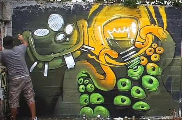 Arsek 4+, unique street art, great street artists, free walls, graffiti art.
