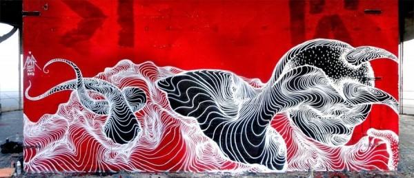 Awer, unique street art, great street artists, free walls, graffiti art.
