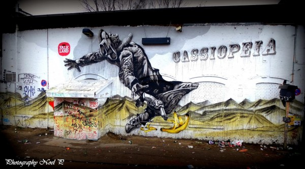 Cassiopeia, unique street art, great street artists, free walls, graffiti art.