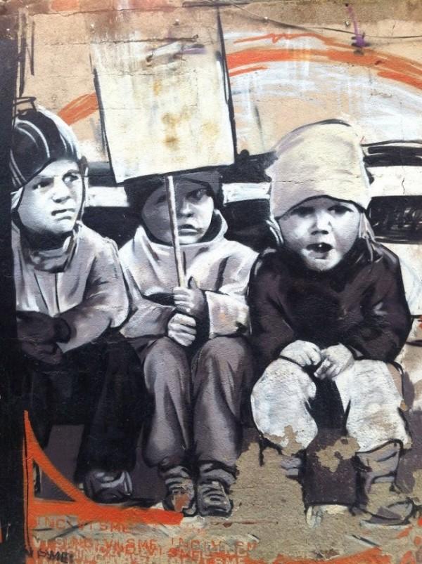 Clot, Bercelona, Spain, unique street art, great street artists, free walls, graffiti art.