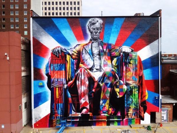 Eduardo Kobra, world's best street art, urban art, graffiti artists, street artists, free walls, wall murals.