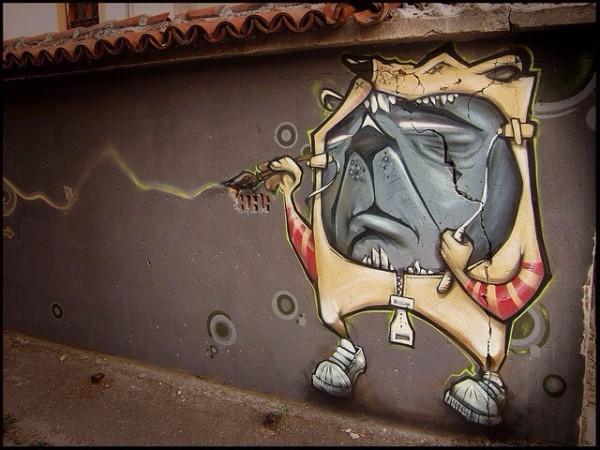 Erase, street art, great street artists, free walls, graffiti art.