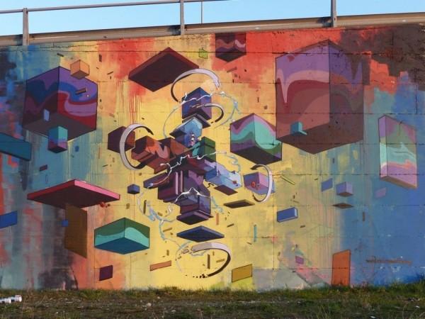 Etnik, world's best street art, urban art, graffiti artists, street artists, free walls, wall murals.