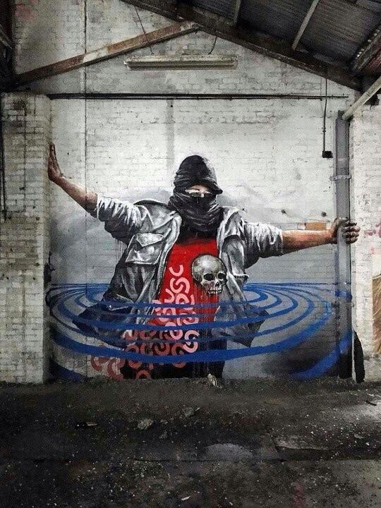 Fintan Magee, world's best street art, urban art, graffiti artists, street artists, free walls, wall murals.