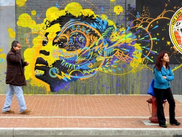 Stinkfish, unique street art, great street artists, free walls, graffiti art.